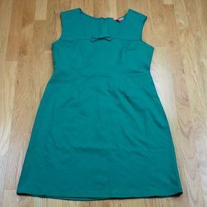 NWOT Modcloth Emerald Retro Pin-Up Sheath Dress